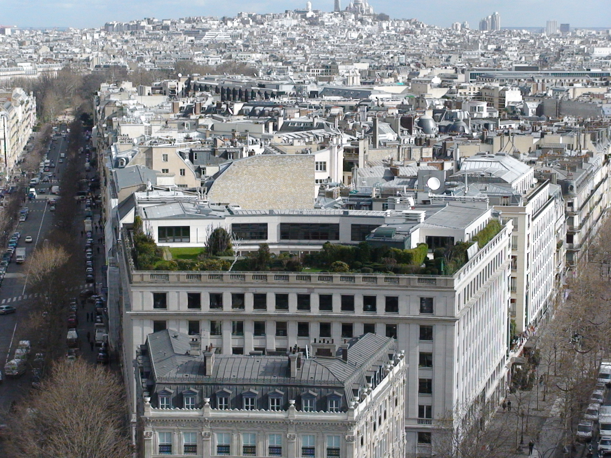 ahhh paris and a killer green roof sustainable stormwater management. Black Bedroom Furniture Sets. Home Design Ideas